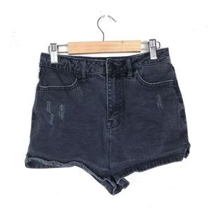 BDG 26 Jean Shorts Super High Rise Spade Pin Up